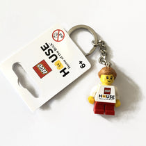 Lego 853713 Lego House girl keychain Exclusive