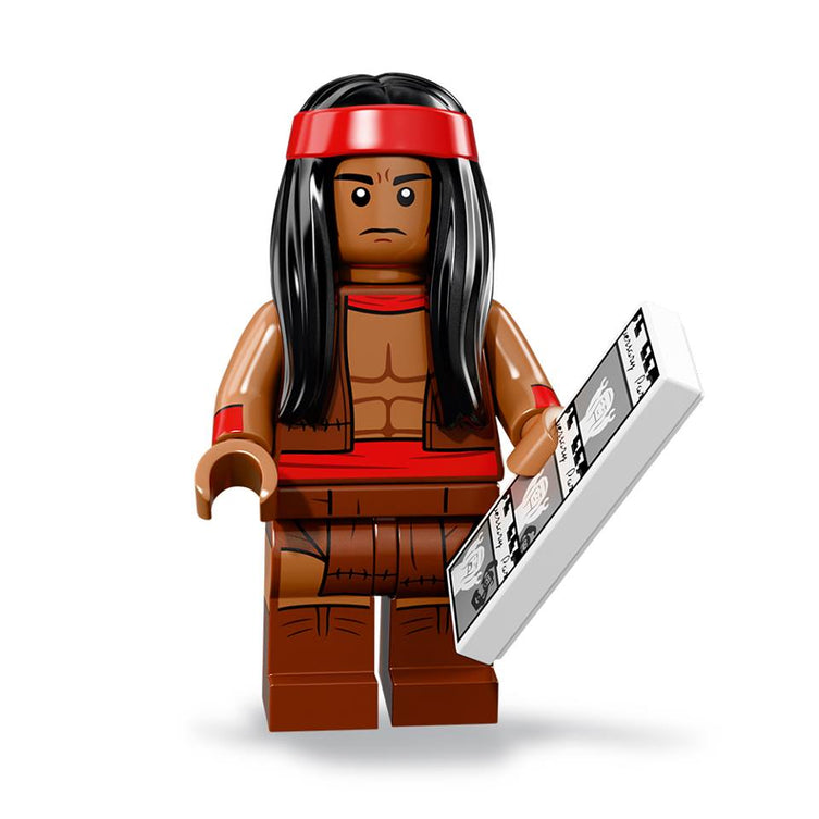 Apache Chief – The BATMAN Movie series 2 LEGO Minifigure