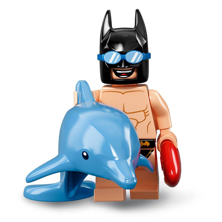Swimming Pool Batman – The BATMAN Movie series 2 LEGO Minifigure