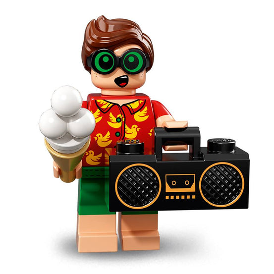 Vacation Robin – The BATMAN Movie series 2 LEGO Minifigure