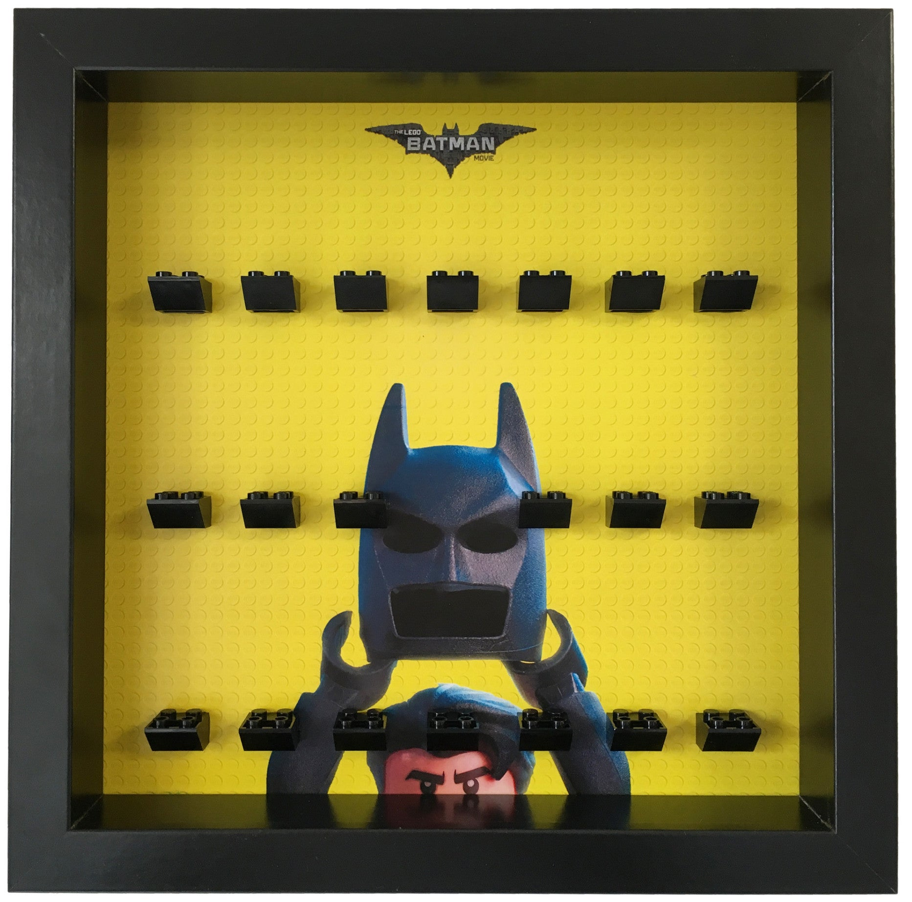 Display Frame For The Batman Movie Minifigures Display Frames For Lego Minifigures