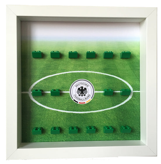 Lego Minifigures Display Frame  LEGO DFB German Football Team Mini...