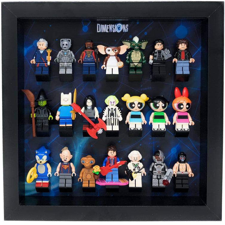 Lego Minifigures Display Frame  Lego Dimensions Minifigures