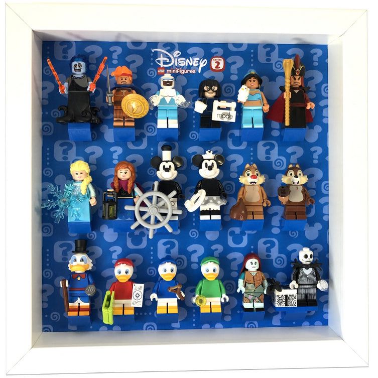 Lego Minifigures Display Frame  Lego Disney Series 2 Minifigures