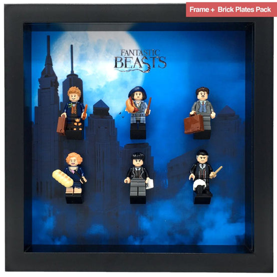 Lego Minifigures Display Frame  Lego Fantastic Beasts Series 1 Min...