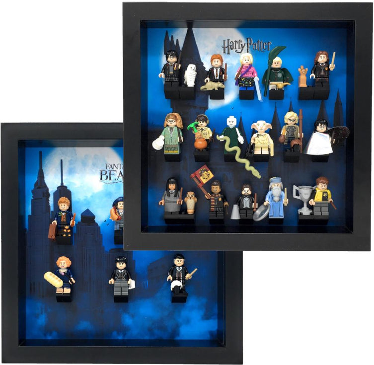 Lego Minifigures Display Frame  Lego Harry Potter & Fantastic ...