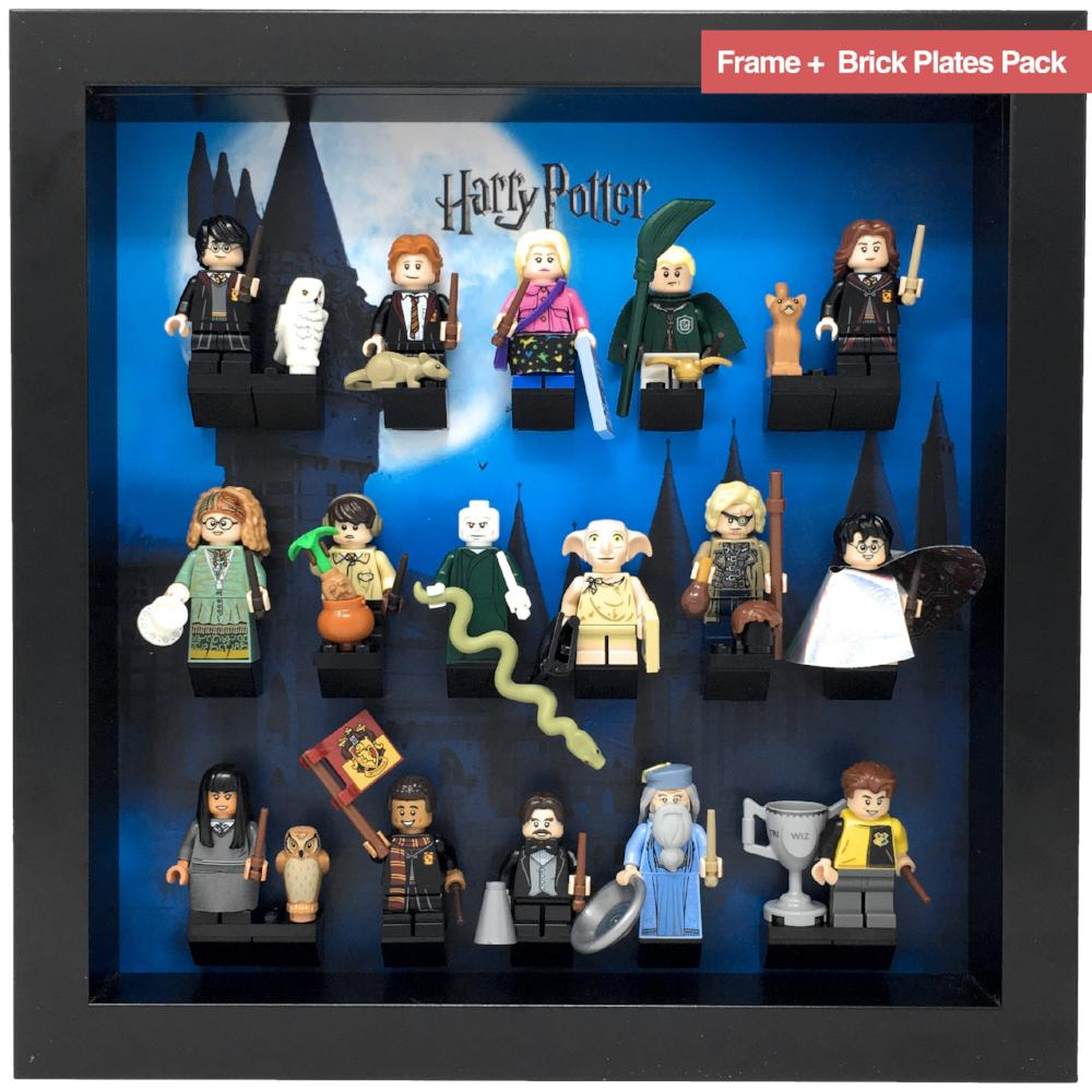 1 -5 NEW LEAFLETS  PLEASE READ LEGO-MINIFIGURES HARRY POTTER SERIES