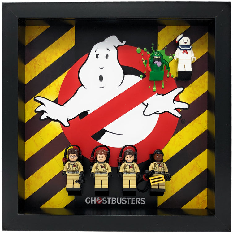 Lego Minifigures Display Frame  Lego Ghostbusters Minifigures