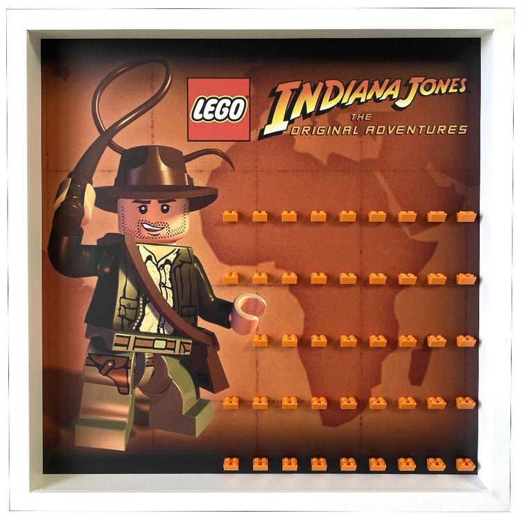 Lego Minifigures Display Frame Indiana Jones The Original Adventur...