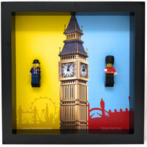 Lego Lester and Hamleys Royal Guard Minifigures frame