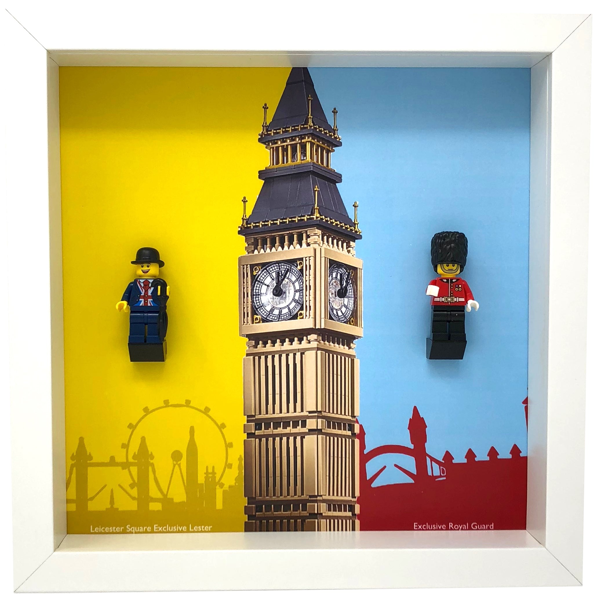 MINIFIGURE Lester LEGO Minifigures Display Case // Frame Special