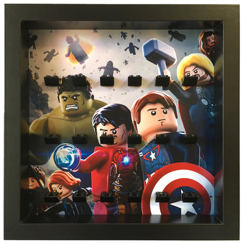 Lego Marvel Avengers Age Of Ultron minifigures frame