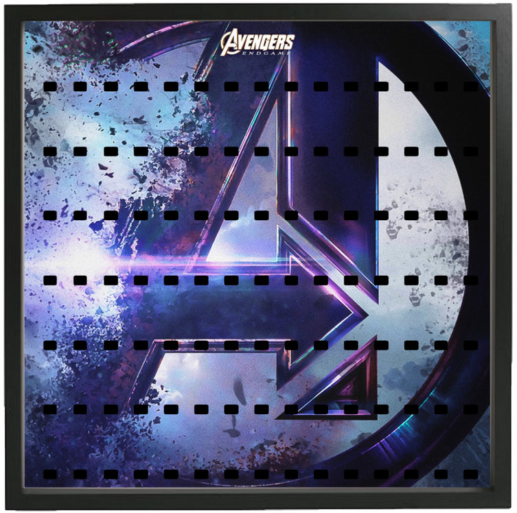 Lego Minifigures Display Frame Avengers Endgame Large  for Lego Mi...