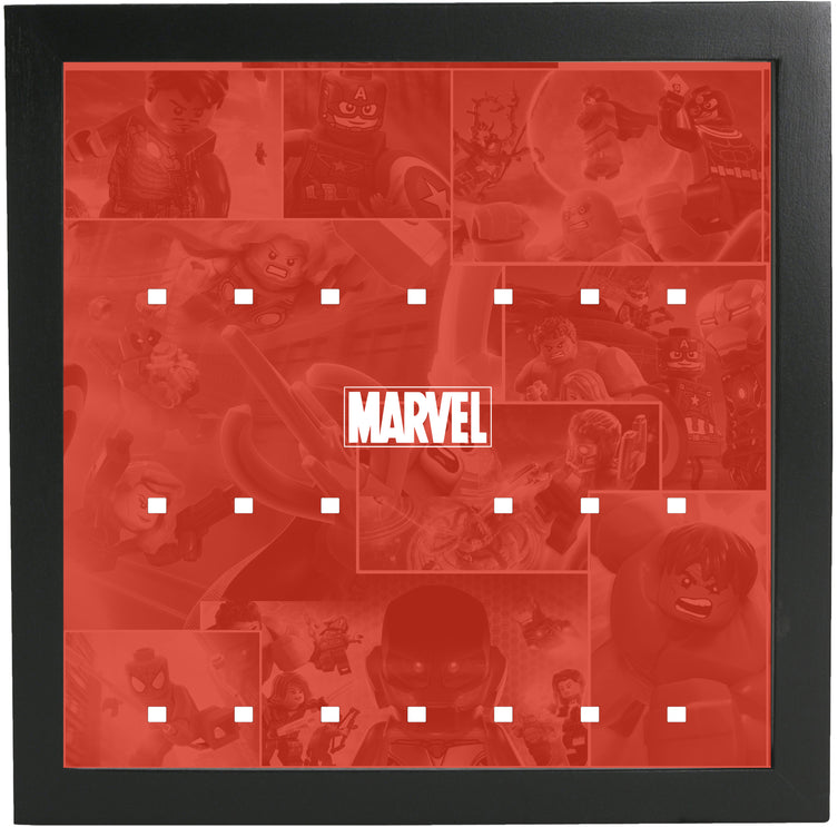 Lego Minifigures Display Frame  Lego Marvel Super Heroes Minifigures
