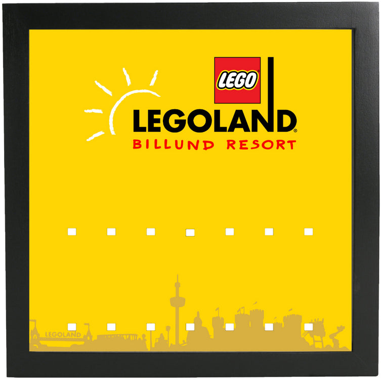 Lego Minifigures Display Frame  Legoland Parks Exclusive Minifigures