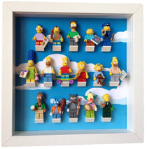 Frame for Lego® Simpsons series Minifigures
