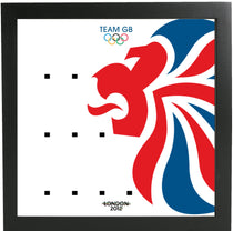 Frame Lego Team GB Olympic Minifigures