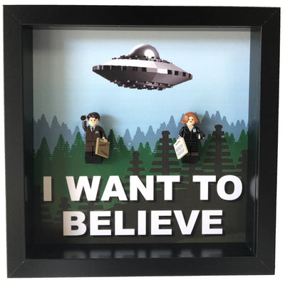 Frame for The X-Files custom Minifigures