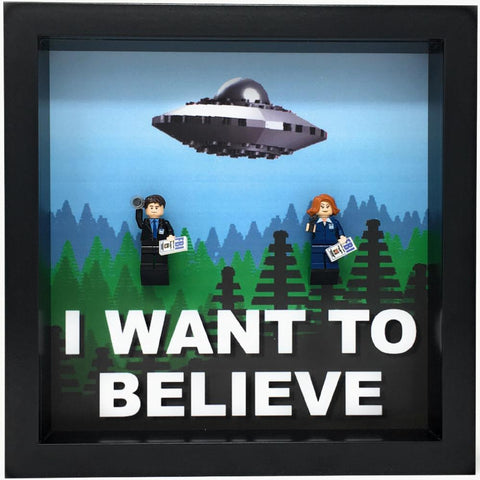 The X-Files Minifigures frame