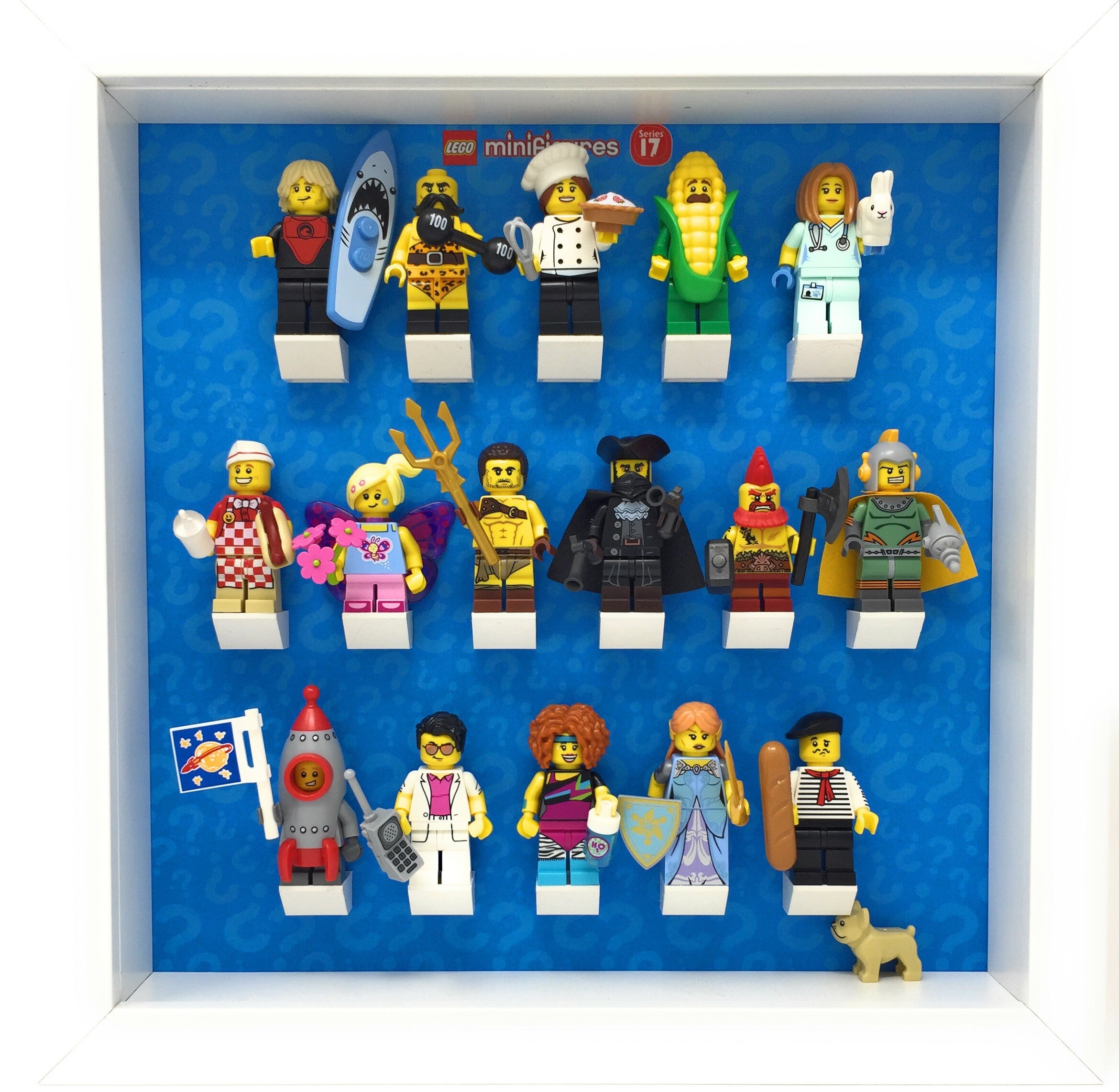 Lego Minifigures Display Case Picture Frame for Series 9 mini figures