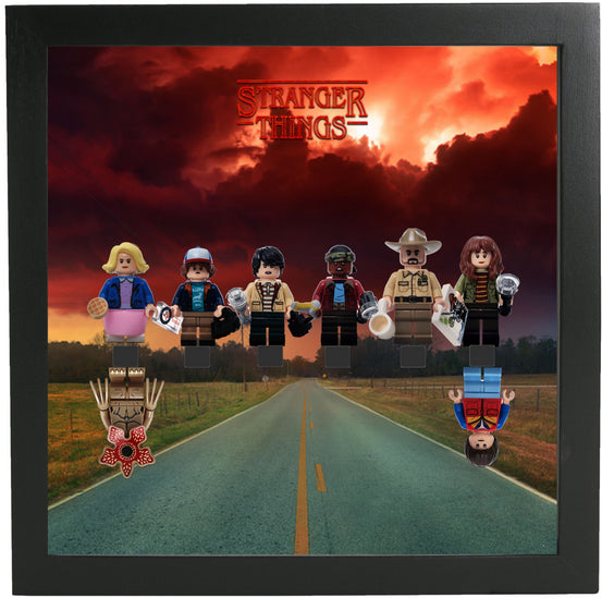Lego Minifigures Display Frame Storm  Lego Stranger Things Minifig...