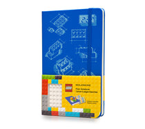 LEGO Moleskine - Limited Edition Notebook - Large - Plain - Blue
