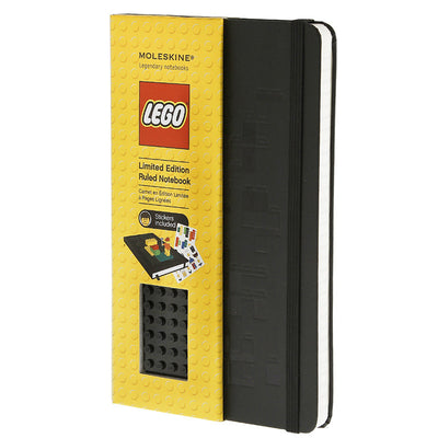 LEGO Moleskine - Limited Edition Notebook - Large - Lego Black Brick