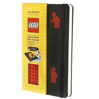 LEGO Moleskine - Limited Edition Notebook - Large - Lego Red Brick