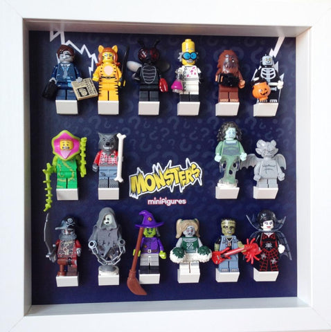 Lego Monsters series 14 minifigures frame