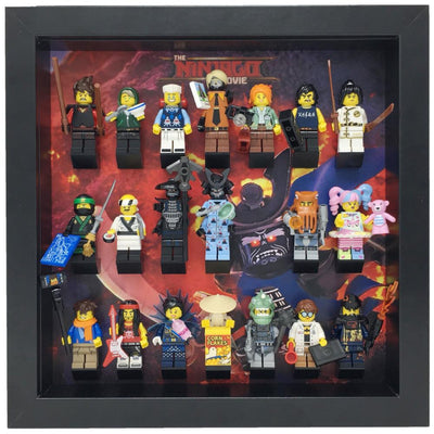 Volcano Garmadon Frame for The Lego® Ninjago Movie Minifigures