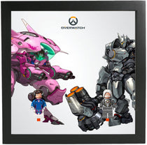 Frames for Lego Overwatch Minifigures Sets