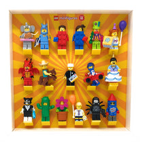 Frame for Lego® Minifigures series 1 to 18