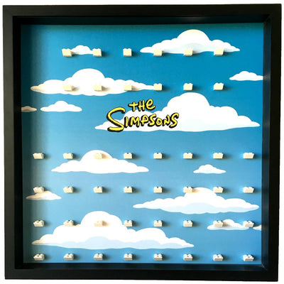 The Simpsons Large Display Frame for Lego Minifigures