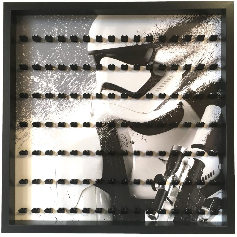 Star Wars Stormtrooper Large Display Frame For Minifigures