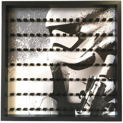 Star Wars Stormtrooper Large Display Frame for Lego Minifigures