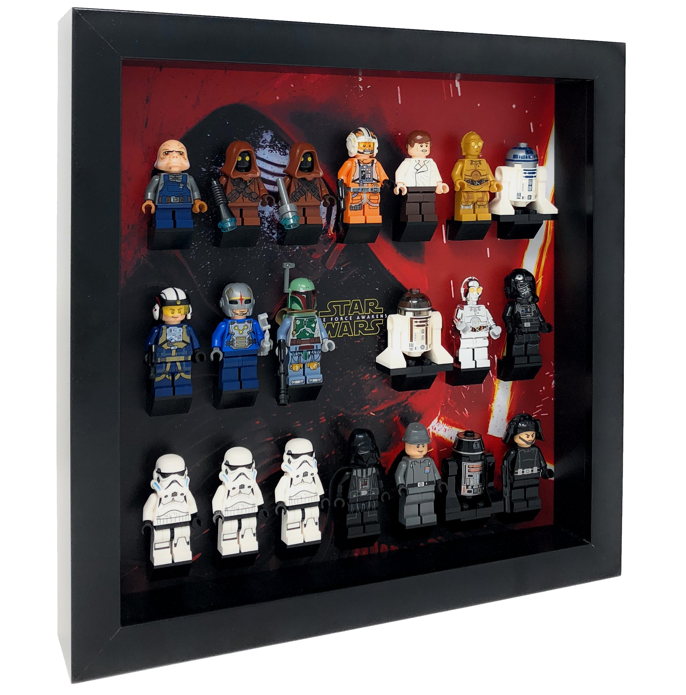 Lego Batman Minifigure Display Case keep your minifig safe and dust free!