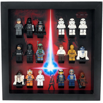 The Last Jedi Frame for Lego® Star Wars Minifigures