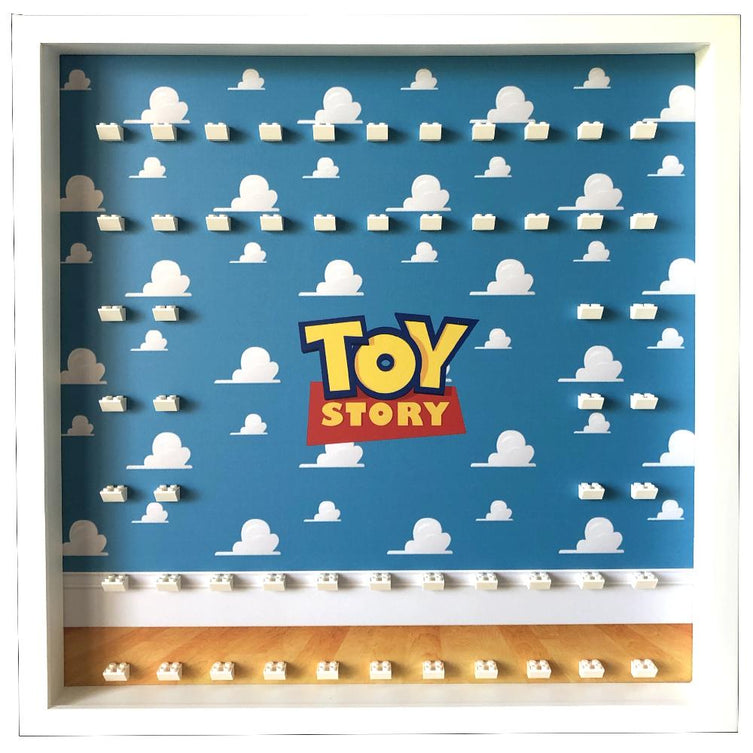 Lego Minifigures Display Frame Toy Story Large  for Lego Minifigures