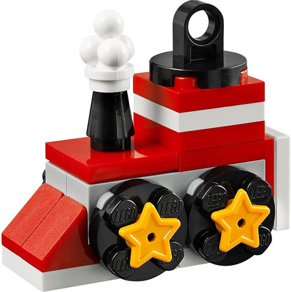Lego Train Christmas Tree Ornament, custom set 5002813 xmas **EXCLUSIVE** / Lego Christmas gift