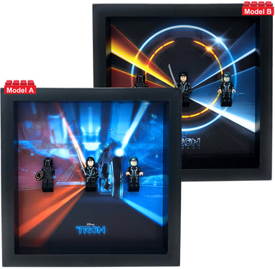 Frame for Lego® Tron Legacy Minifigures