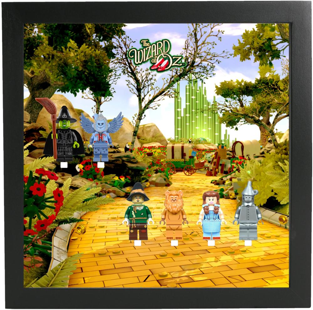 Frame For The Wizard Of Oz Minifigures Display Frames For Lego