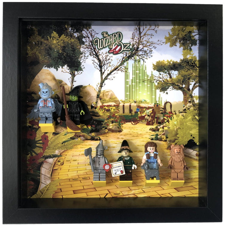 Lego Minifigures Display Frame  The Wizard of Oz Minifigures