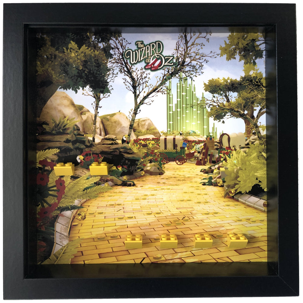 Frame For The Wizard Of Oz Minifigures Display Frames