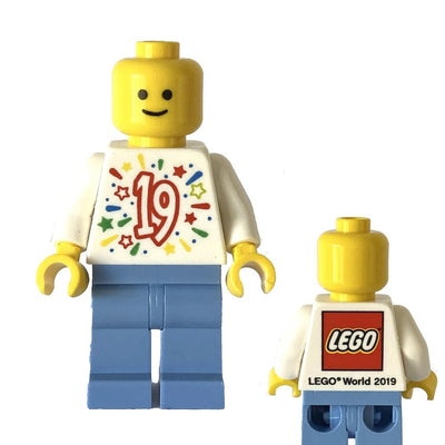 Lego World 2019 Minifigure