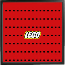 Logo Large Display Frame for Lego® Minifigures