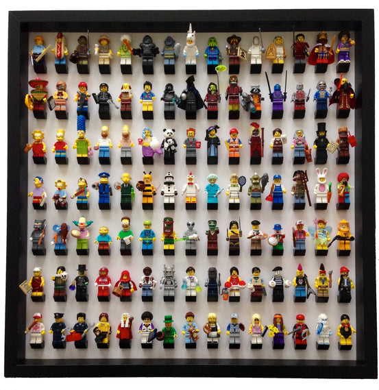 Lego Minifigures Display Frame Black  for Lego Minifigures (Outlet)