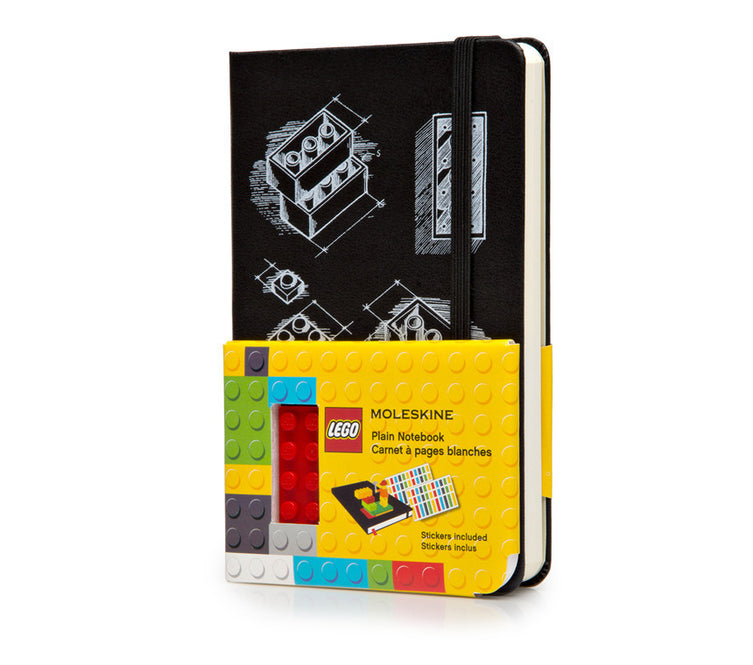 LEGO Moleskine - Limited Edition Notebook - Pocket - Plain - Black