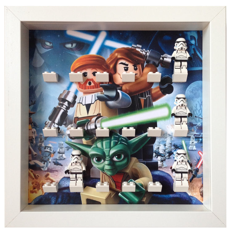 Lego Minifigures Display Frame Custom layout  Lego Star Wars Minif...