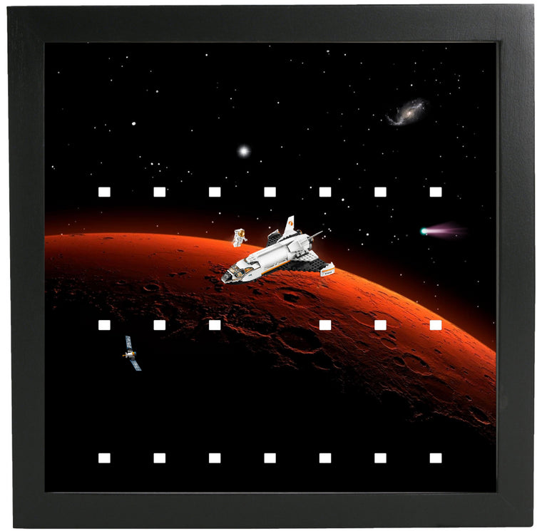 Lego Minifigures Display Frame Mars  Lego Space Minifigures