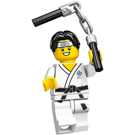 Martial Arts Boy – Series 20 Lego Minifigure